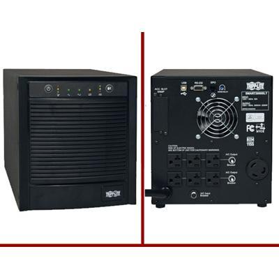 TrippLite 3000VA 2250W UPS Smart Tower AVR 120V 3kVA USB DB9 SNMP (SMART3000SLT)