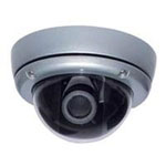 Professional CCD Outdoor Vandal Dome Proof Camera with 480 TVL Resolution