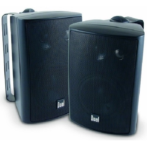 "Dual Electronics LU43P 4"" LU Series Speakers - Black"