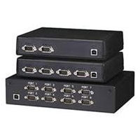 8-Port USB Hub - Serial adapter - USB - RS-232 x 8