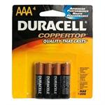 CopperTop MN 2400 - Battery 4 x AAA alkaline