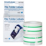 Seiko Green File Folder Labels SLP-FLG