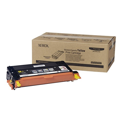 Xerox Yellow Standard Capacity Print Cartridge for Phaser 6180/6180MFP