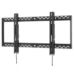 "SmartMount Universal Flat Wall Mount SF670 - Mounting kit (wall plate, bracket adapter) for LCD / plasma panel - black - screen size: 46""-90"""