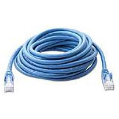 HP Belkin patch cable - 14 ft - blue (AH122AA)