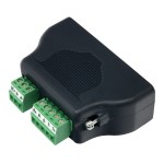 DB25M to RS485 and 9-30 VDC Power Input Screw Terminal Adapter