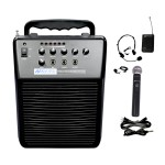 AmpliVox Sound Systems Mity-Vox Wireless Rechargeable PA SW212