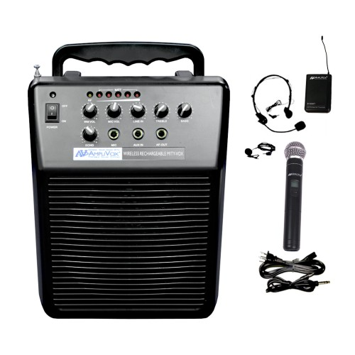 AmpliVox Sound Systems Wireless Rechargeable Mity-Vox