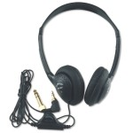 AmpliVox Sound Systems Personal Multimedia Stereo Headphones w/Volume Control SL1006