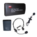 Wireless VHF Lapel and Headset Mic Kit