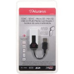 Aluratek Hi-Speed USB2.0 SD/MICROSD/MMC/MINISD ALL-IN-1 Multi-Media CardReader AUCR200