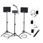 Voice Carrier - Wired Speakers & Wireless Mics