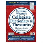 Merriam-Websters Collegiate Dictionary & Thesaurus - Deluxe Audio Edition