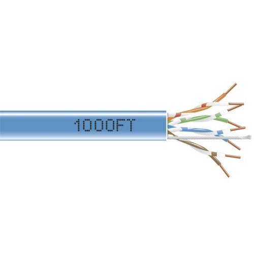Black Box GigaBase 350 - bulk cable - 1000 ft - blue