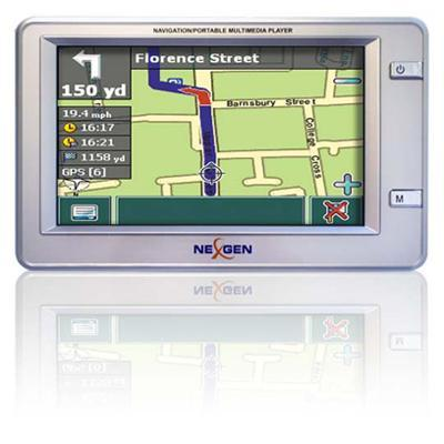 Nexgen GPS Portable Navigation & Multimedia Player w/Accessories included