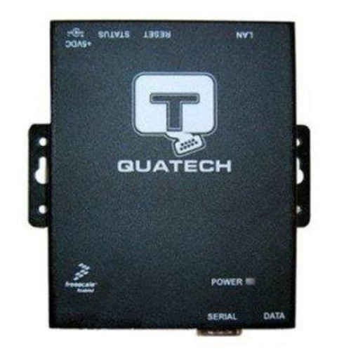 Quatech 1 port RS-232/422/485, DB-9, surge suppression serial device server
