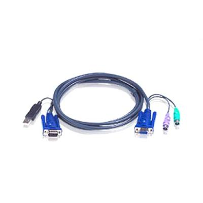 Iogear20ft. PS/2 to USB Intelligent KVM Cable(2L5506UP)