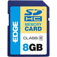  EDGE 8GB ProShot Secure Digital High Capacity Flash Memory Card