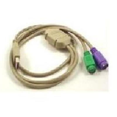 Micro ConnectorsUSB PS/2 Splitter Cable(G08-213)