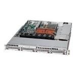 Supermicro SC815 TQ-560UV - Rack-mountable - 1U - extended ATX - SATA/SAS - hot-swap 560 Watt - silver