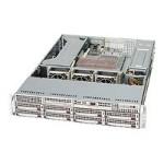 Supermicro SC825 TQ-R700UB - Rack-mountable - 2U - extended ATX - SATA/SAS - hot-swap 700 Watt - black - USB/serial