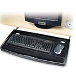 Underdesk Comfort - Keyboard drawer - black