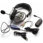 10Pk Vibrating Headset 60-W/ Mic Vibrat