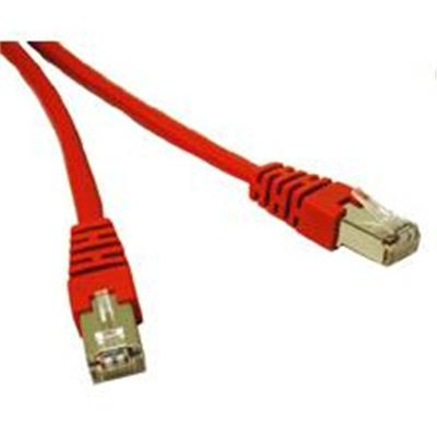 Cables To Go Cat6 Molded Shielded (STP) Network Patch Cable - patch cable - 10 ft - red (31203)