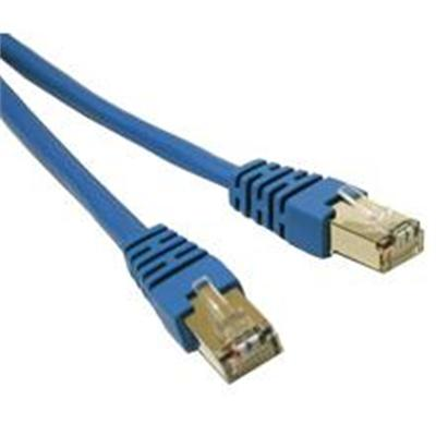 Cables To Go Cat6 Molded Shielded (STP) Network Patch Cable - patch cable - 10 ft - blue (31210)