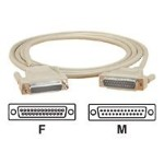Serial / parallel extension cable - DB-25 (M) to DB-25 (F) - 10 ft - molded, thumbscrews - for ServSwitch Fiber KVM Extender
