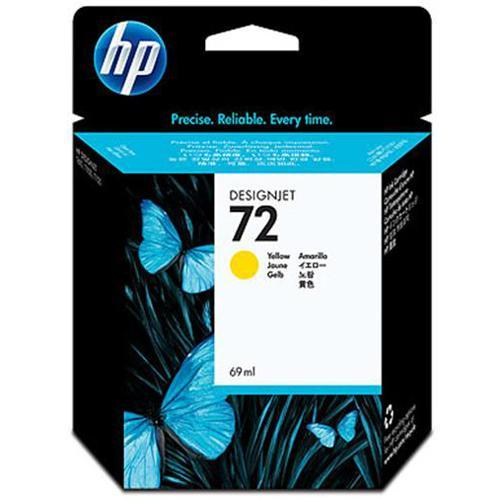 HP 72 69-ml Yellow Ink Cartridge with Vivera Inks