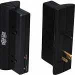 TrippLite Surge Protector Wallmount Direct Plug In 120V 4 Outlet 720 Joules - Surge protector - 15 A - AC 120 V - output connectors: 4 - black TLP4BK