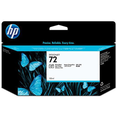 HP 72 130-ml Photo Black Ink Cartridge with Vivera Inks