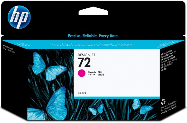 HP 72 130-ml Magenta Ink Cartridge with Vivera Inks