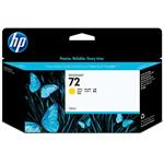 HP 72 130-ml Yellow Ink Cartridge with Vivera Inks C9373A
