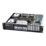 Supermicro SC523 L-520B - Rack-mountable - 2U - ATX 520 Watt - black