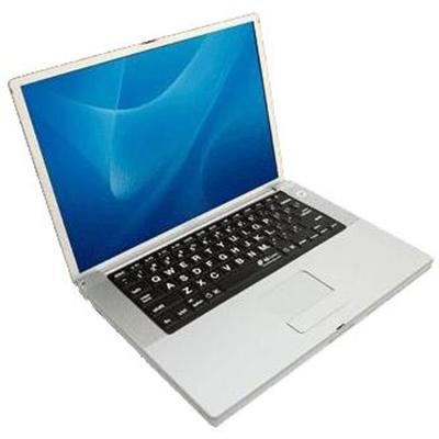 KB Covers Large Type Keyboard Cover For Powerbook And MacBook Pro (LT-P-B)