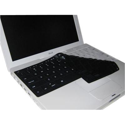 KB Covers Keyboard Cover for iBook - Black with White Symbols (KS-E-B)