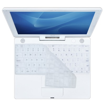 KB Covers Keyboard Cover for iBook - Clear (Ice) (CV-E-Clear)