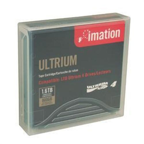 Imation 800GB/1.6TB LTO Ultrium Generation 4 Tape Cartridge w/ Case - Teal