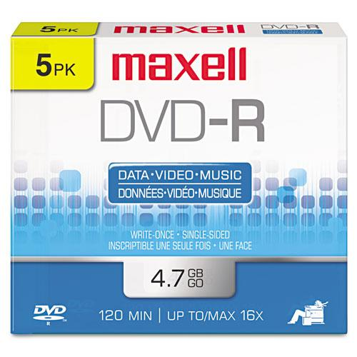 Maxell DVD-R x 5 - 4.7 GB