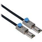 SAS external cable - 26 pin 4x Shielded Mini MultiLane SAS (SFF-8088) (M) to 26 pin 4x Shielded Mini MultiLane SAS (SFF-8088) (M) - 3.3 ft