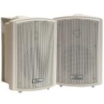 3.5'' Indoor/Outdoor Waterproof Wall Mount Speakers - Pair
