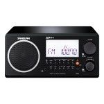 FM-RBDS / AM Wooden Cabinet Digital Tuning Receiver - Black