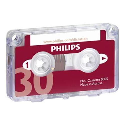 Philips microcassette - 1 x 30min