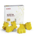 6 - yellow - solid inks - for Phaser 8860, 8860DN, 8860MFP, 8860MFP/D, 8860MFP/E, 8860MFP/SD, 8860PP, 8860WDN