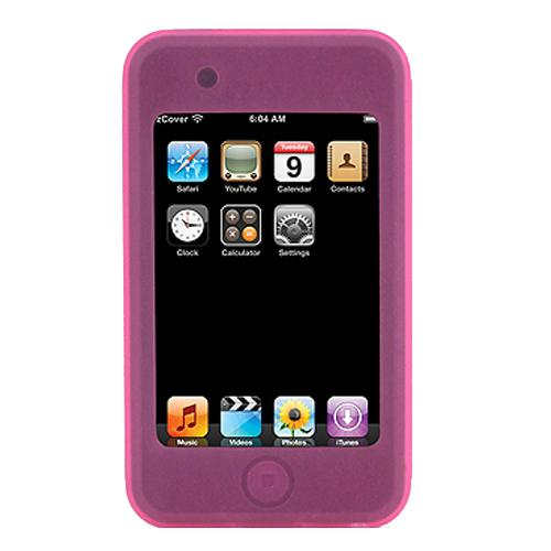 zCover iSA touch Origianl Pack with Silicone Case and Universal Belt Clip fits Apple iPod touch 8GB&16G - Pink