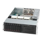 Supermicro SC835 TQ-R800B - Rack-mountable - 3U - extended ATX - SATA/SAS - hot-swap 800 Watt - black
