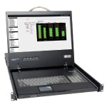 1U Rack-Mount Console with 19-in. LCD