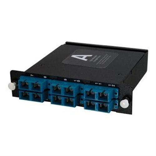 Cables To Go Q-Series Fiber Distribution System patch panel